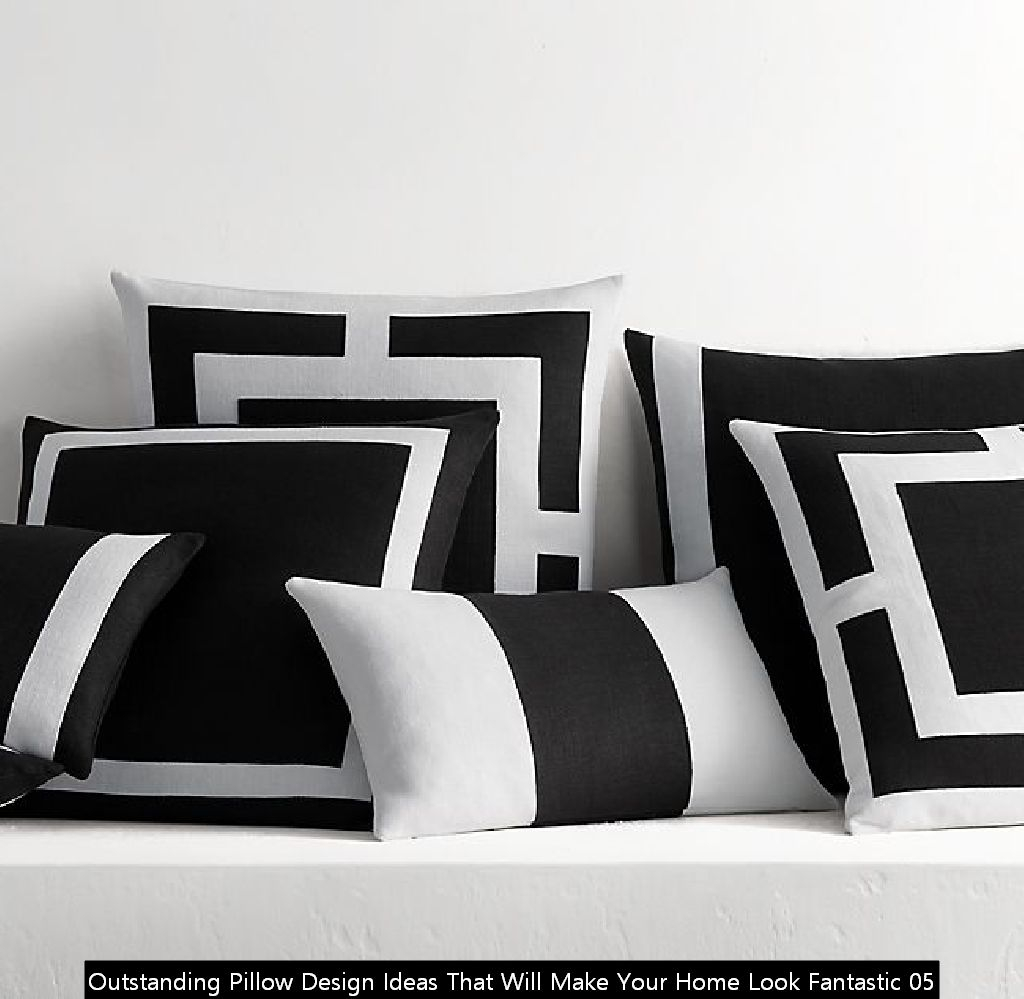 Outstanding Pillow Design Ideas That Will Make Your Home Look Fantastic 05