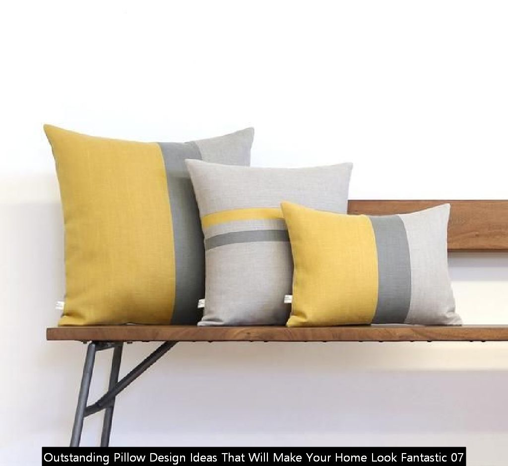 Outstanding Pillow Design Ideas That Will Make Your Home Look Fantastic 07
