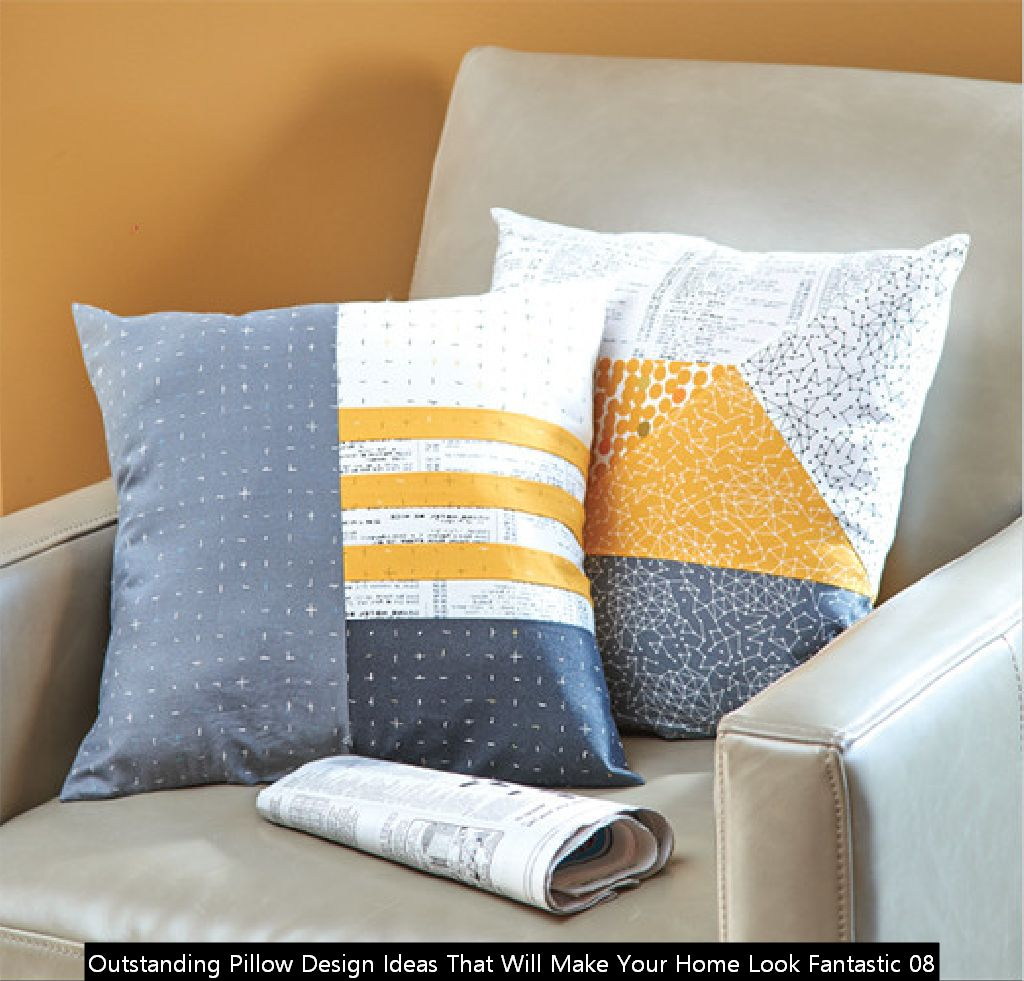 Outstanding Pillow Design Ideas That Will Make Your Home Look Fantastic 08