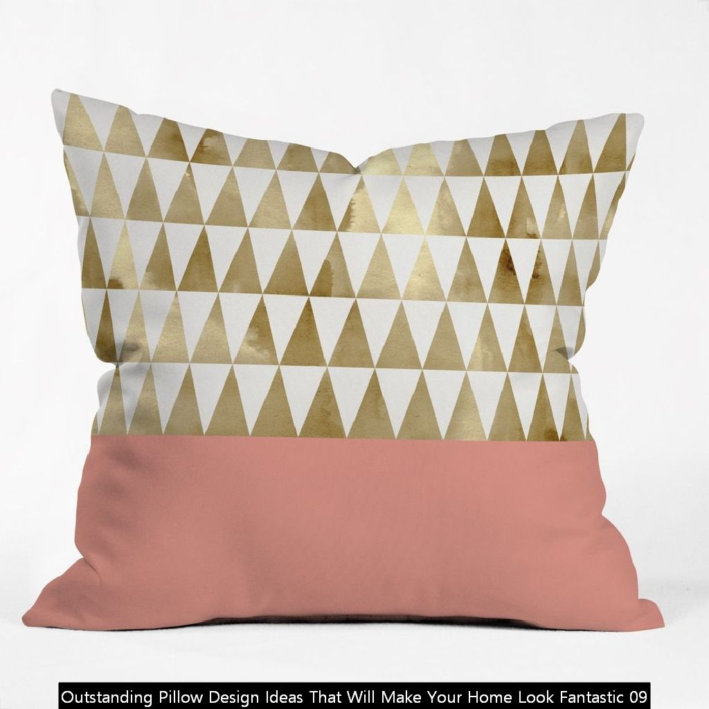 Outstanding Pillow Design Ideas That Will Make Your Home Look Fantastic 09