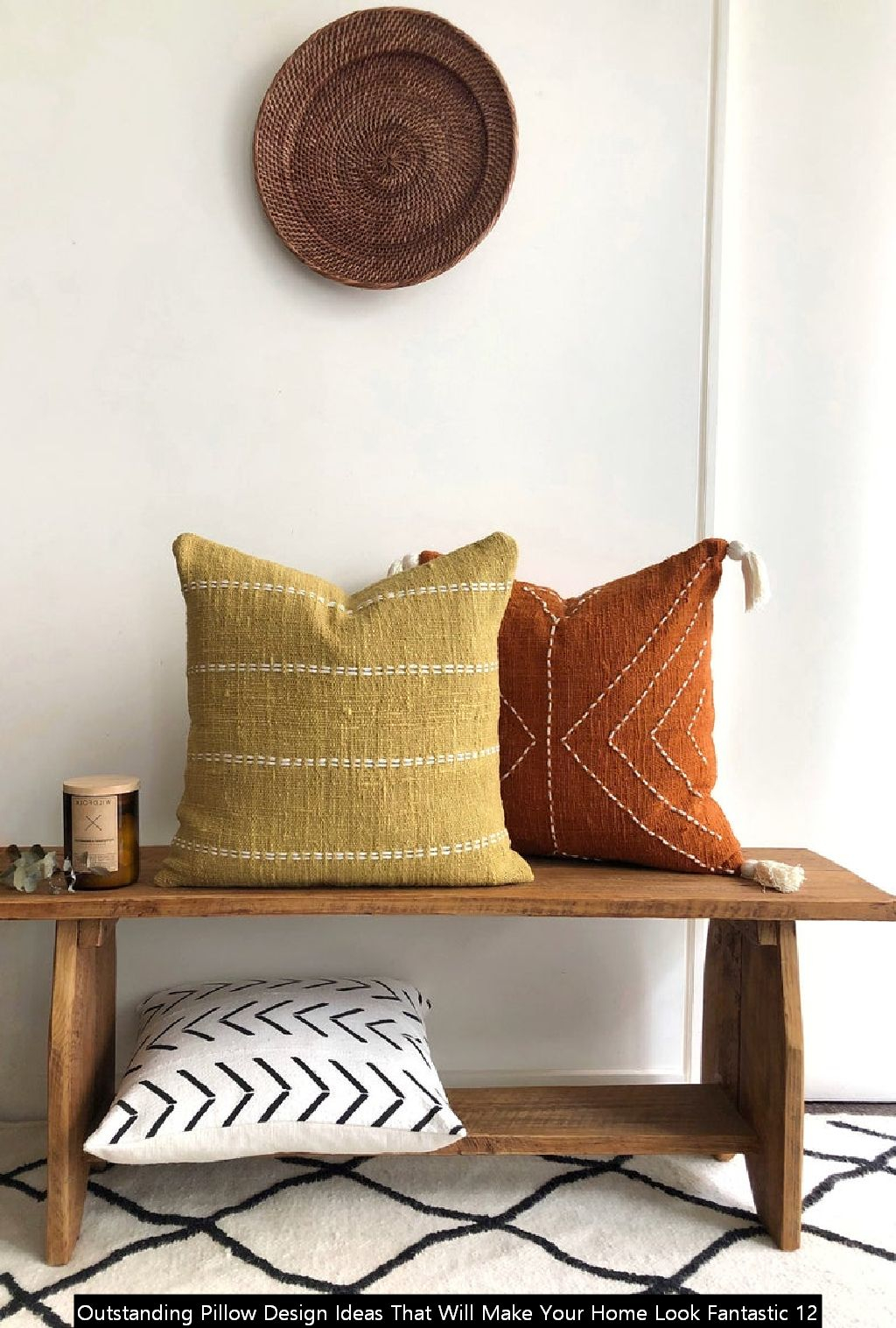 Outstanding Pillow Design Ideas That Will Make Your Home Look Fantastic 12