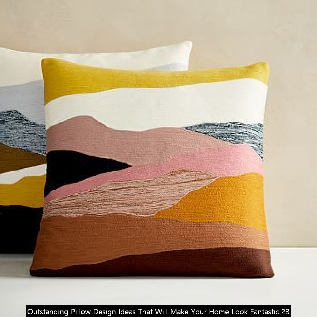 Outstanding Pillow Design Ideas That Will Make Your Home Look Fantastic 23