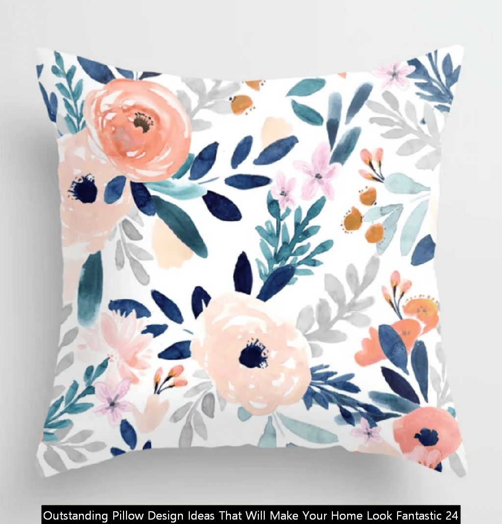 Outstanding Pillow Design Ideas That Will Make Your Home Look Fantastic 24