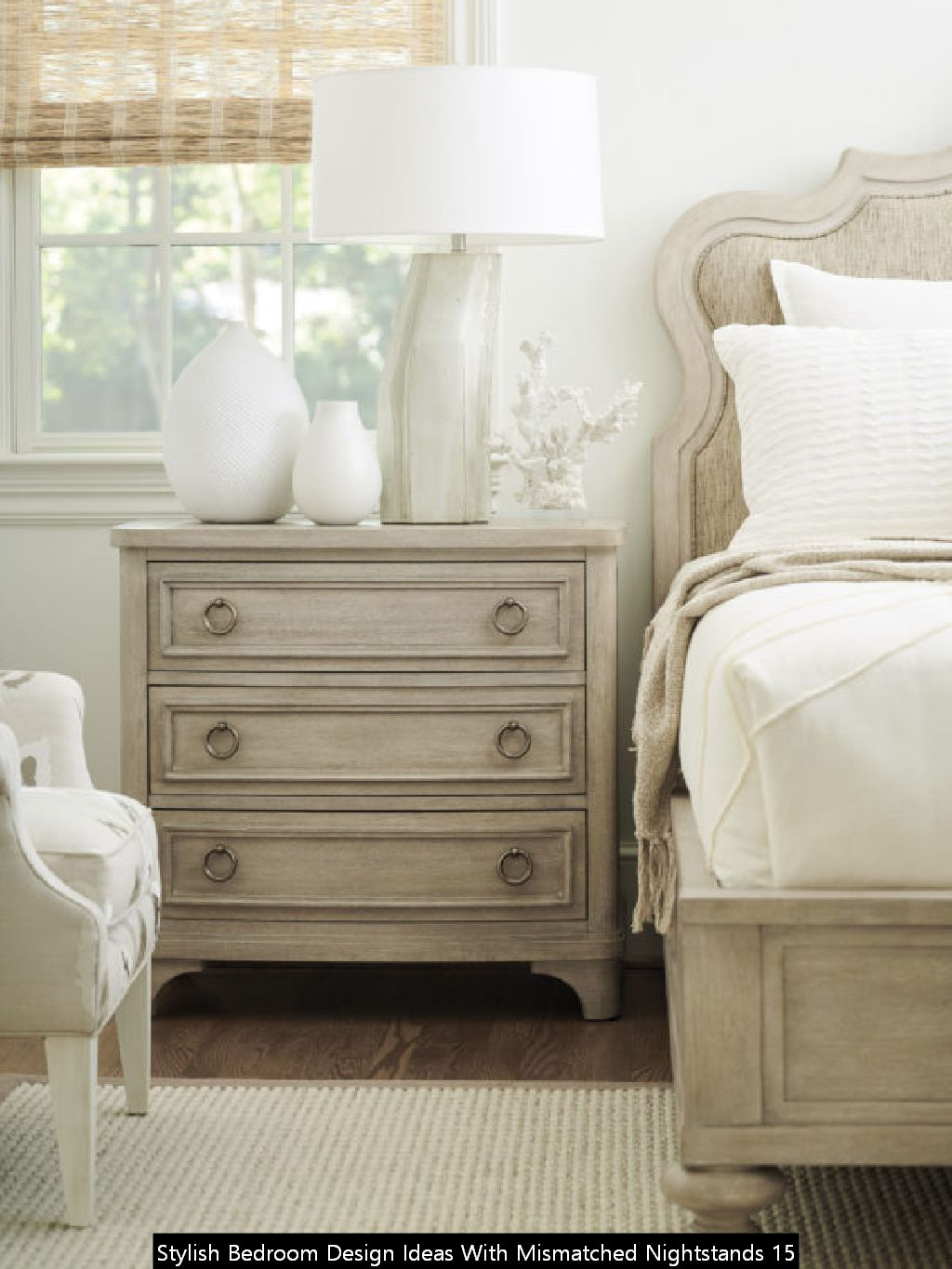 Stylish Bedroom Design Ideas With Mismatched Nightstands 15