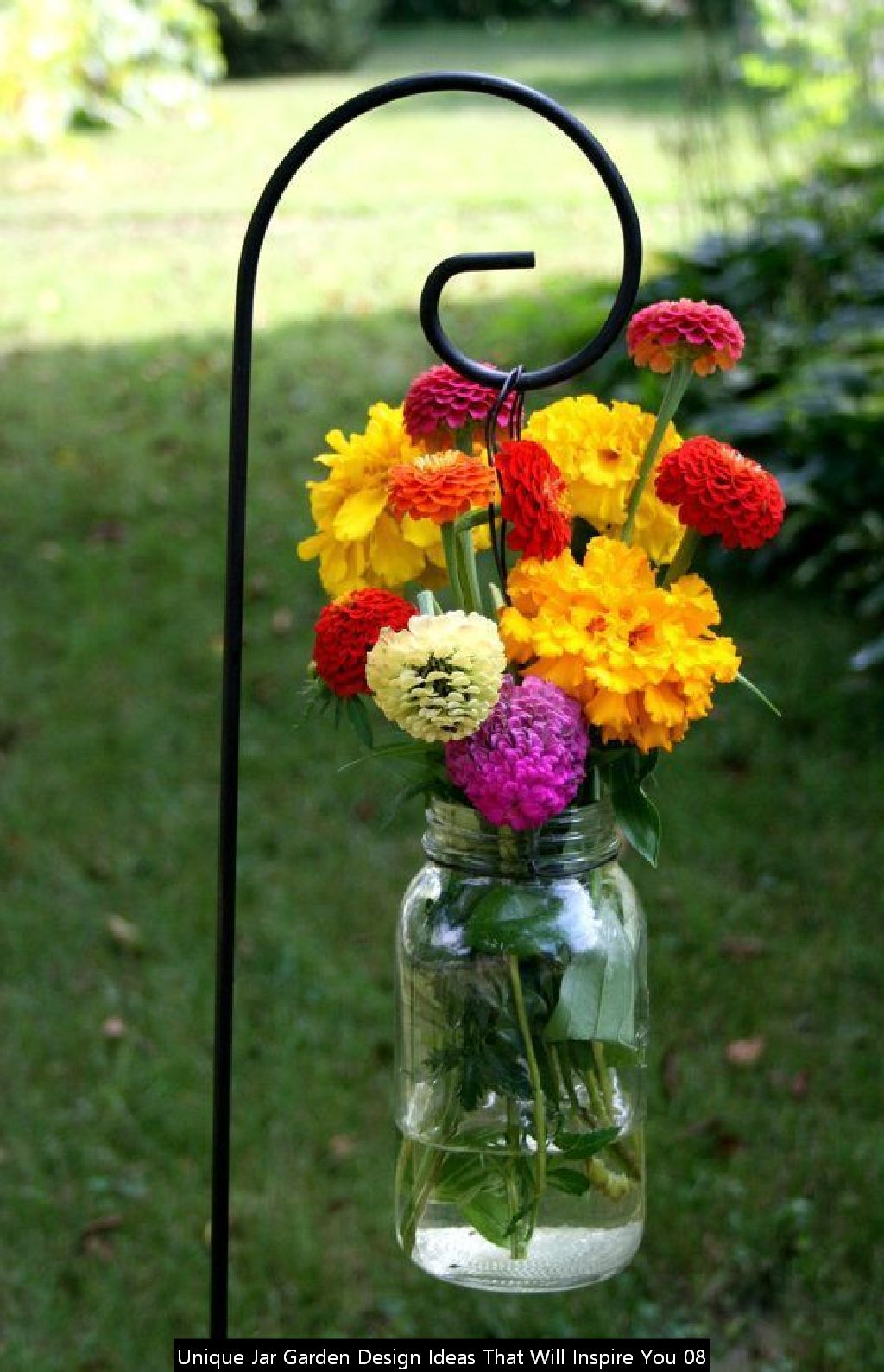 Unique Jar Garden Design Ideas That Will Inspire You 08