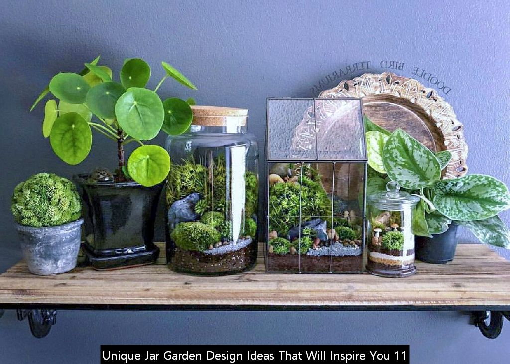 Unique Jar Garden Design Ideas That Will Inspire You 11