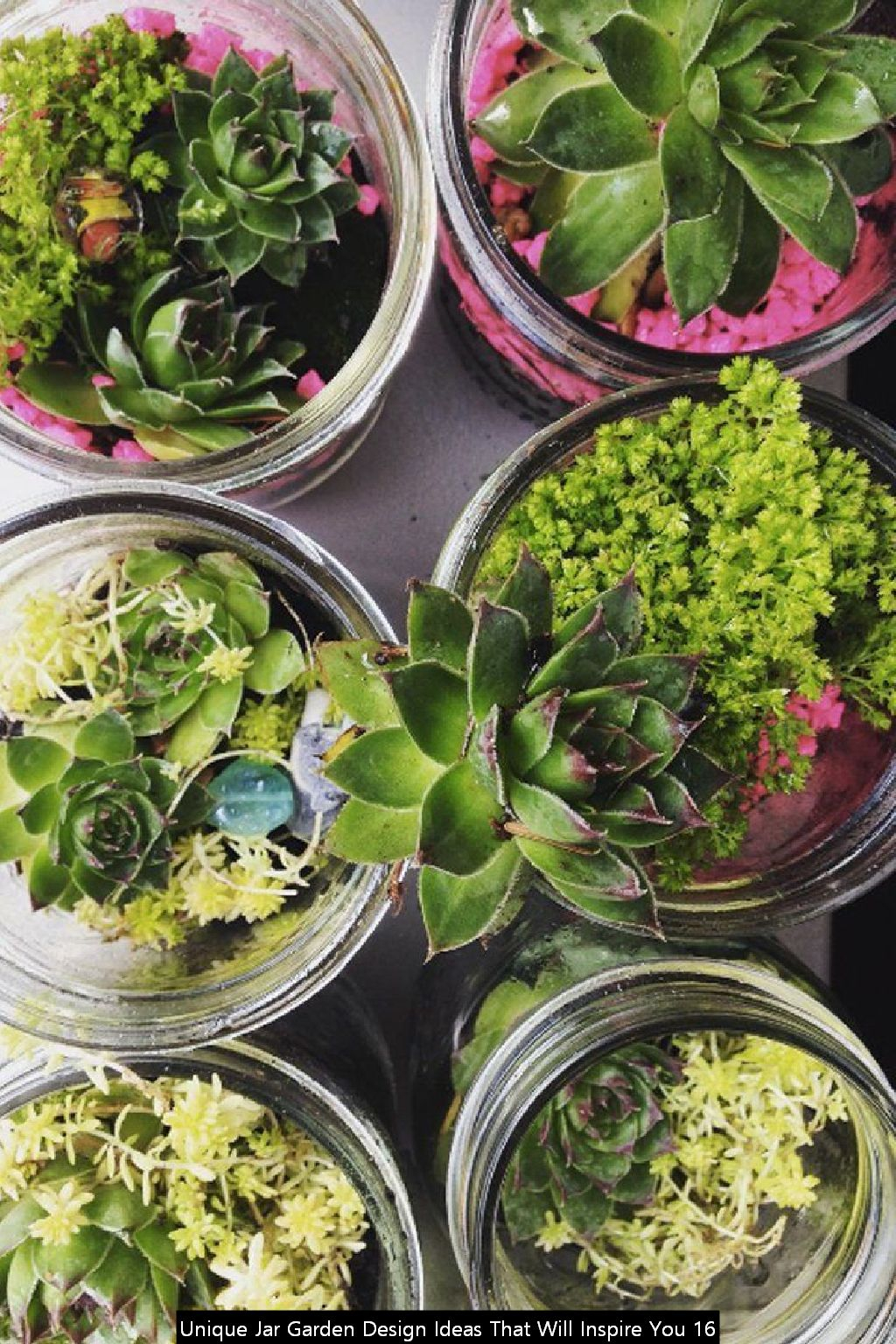 Unique Jar Garden Design Ideas That Will Inspire You 16