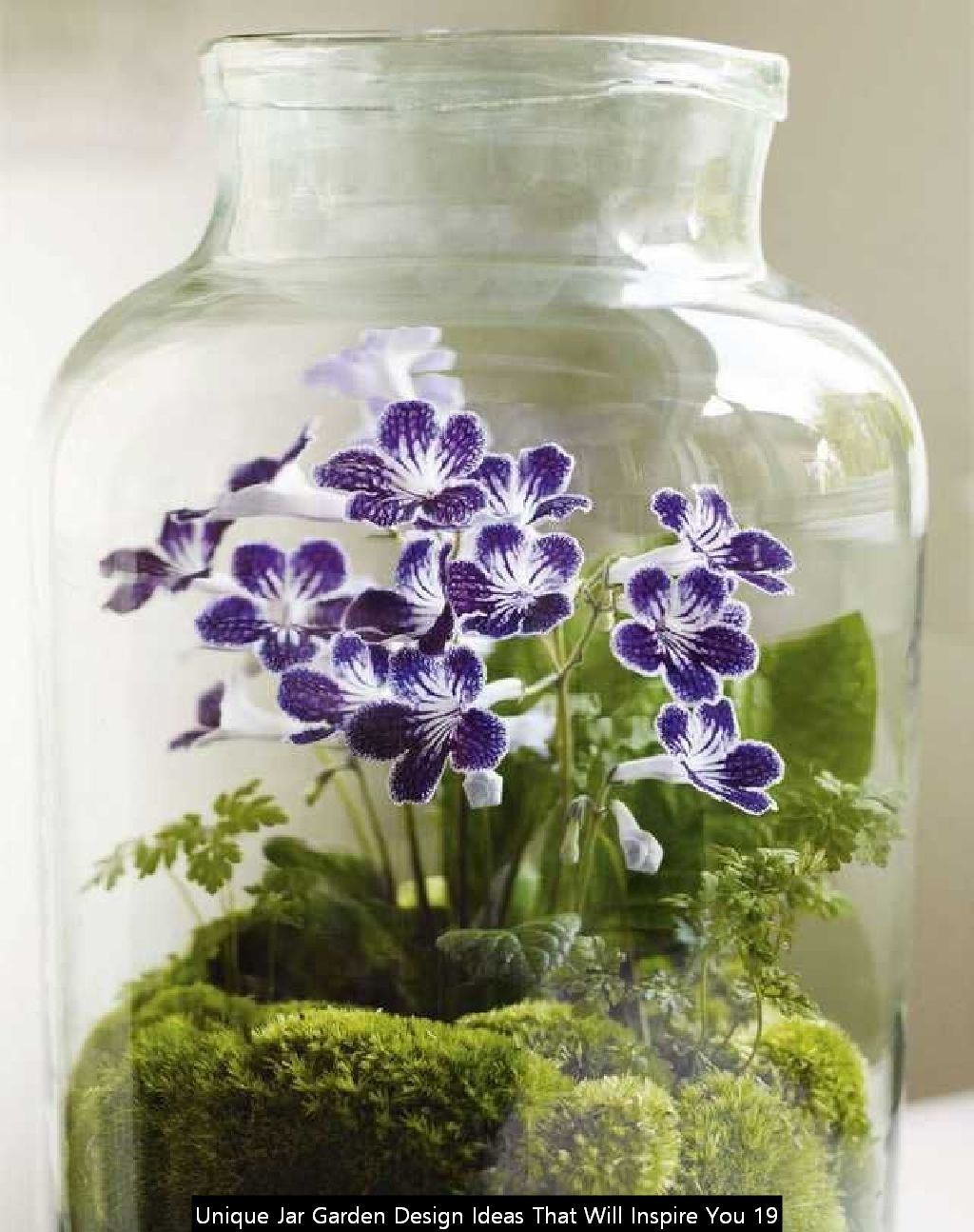 Unique Jar Garden Design Ideas That Will Inspire You 19