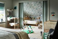 Adorable Three Bedrooms In One Room For Your Lovely Kids 6
