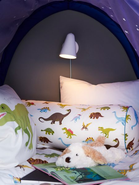 Cute Dinosaur Theme Kids Bedroom Design Ideas 2