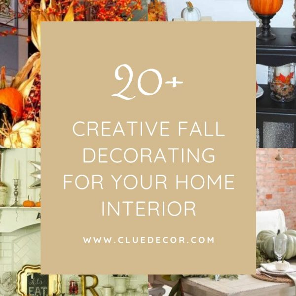 20+ Creative Fall Decorating For Your Home Interior