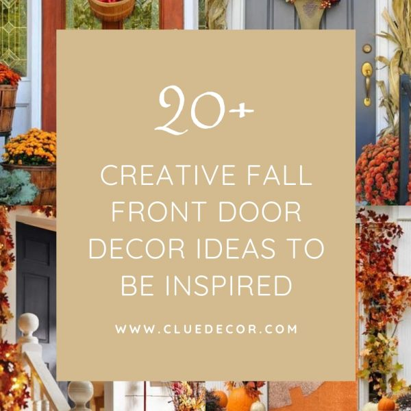 20+ Creative Fall Front Door Decor Ideas To Be Inspired