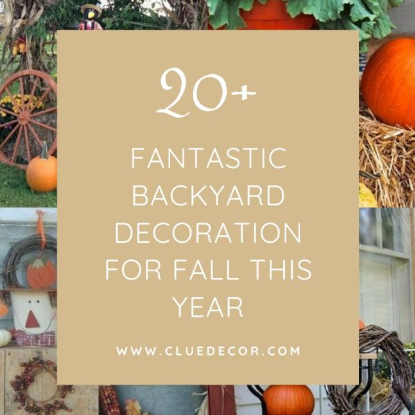 20+ Fantastic Backyard Decoration For Fall This Year