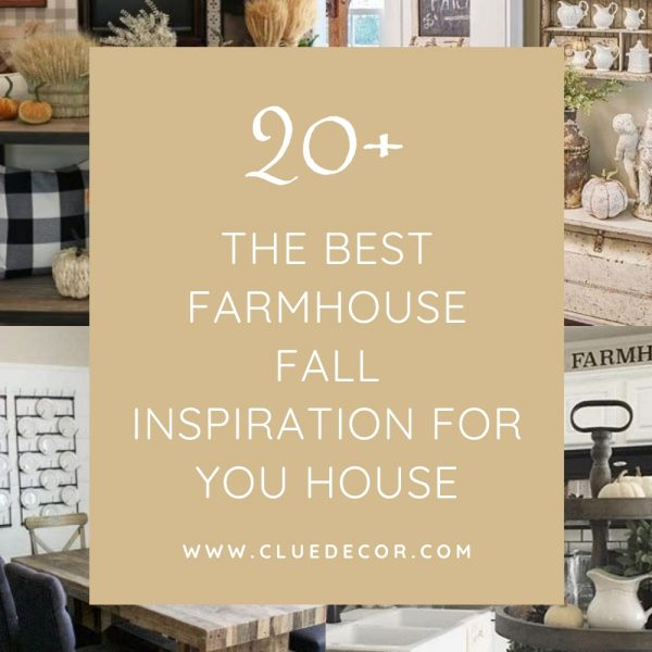 20+ The Best Farmhouse Fall Inspiration For You House