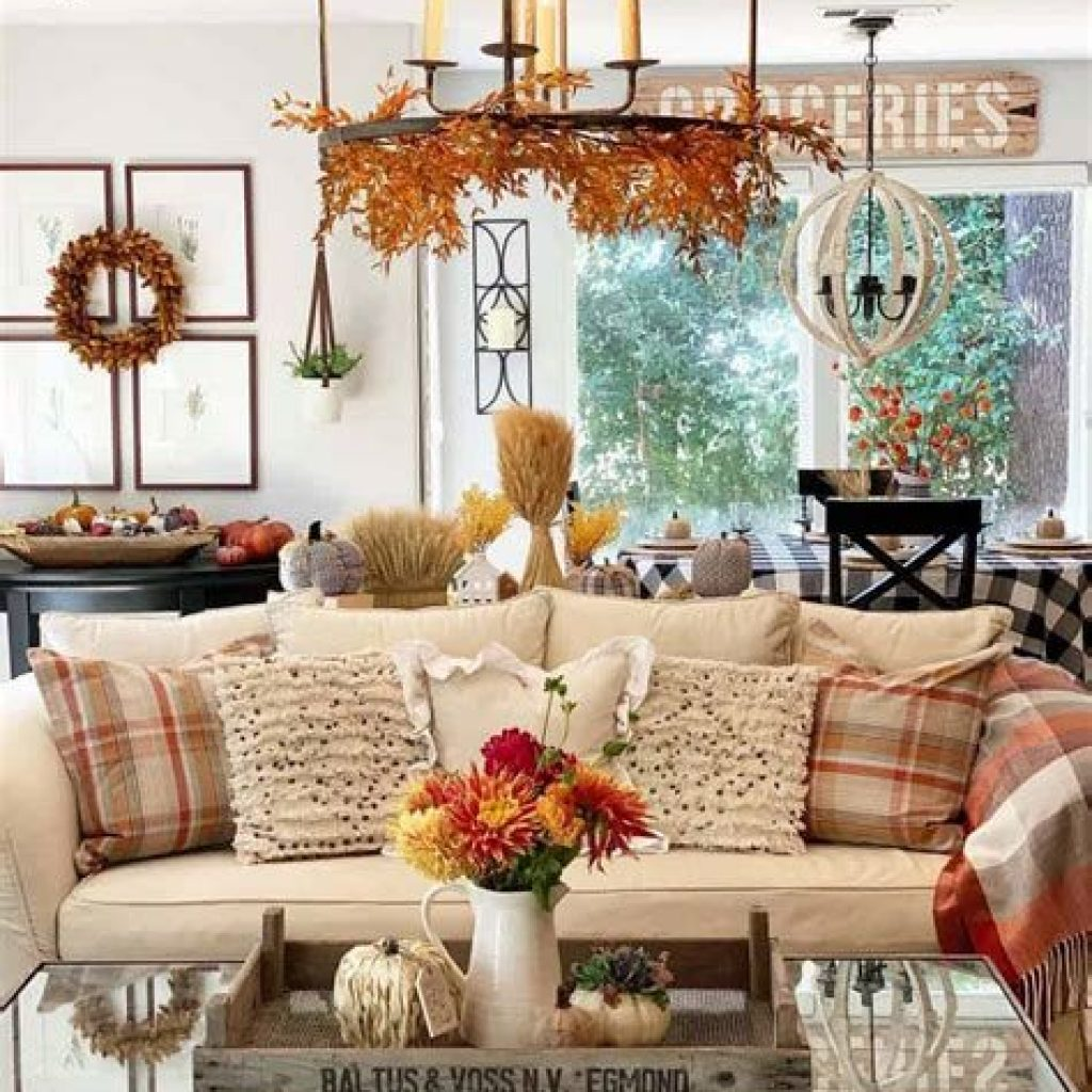 Amazing Fall Home Decorations For Minimalist House 04