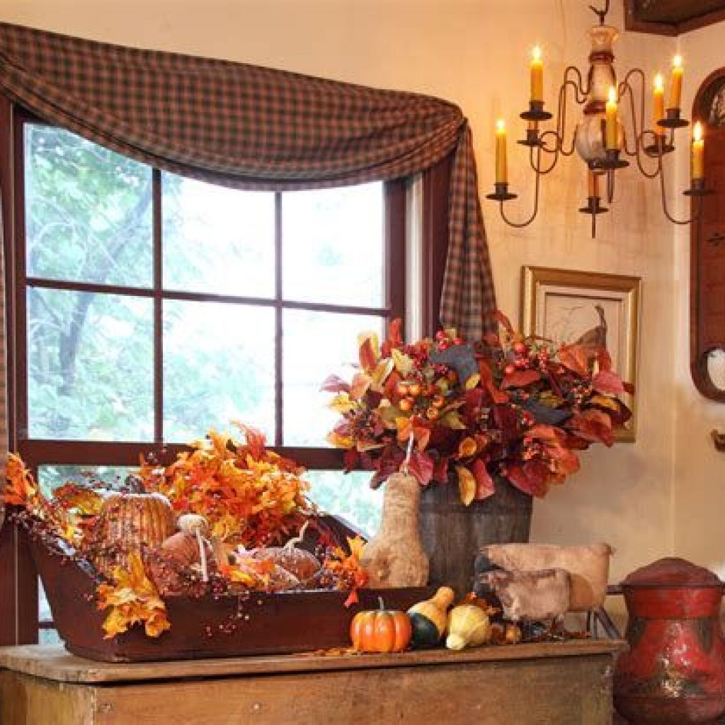 Amazing Fall Home Decorations For Minimalist House 06