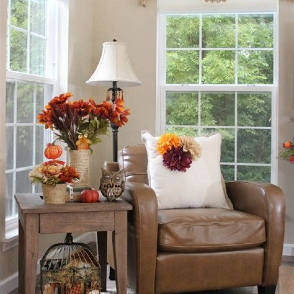 Amazing Fall Home Decorations For Minimalist House 08
