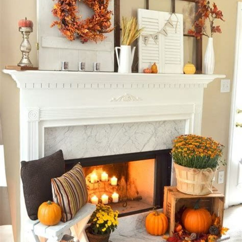 Amazing Fall Home Decorations For Minimalist House 09