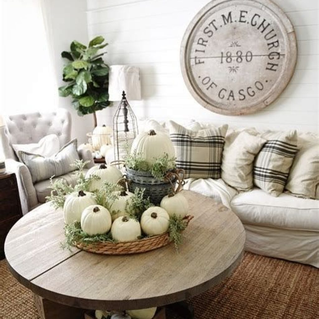 Amazing Fall Home Decorations For Minimalist House 19
