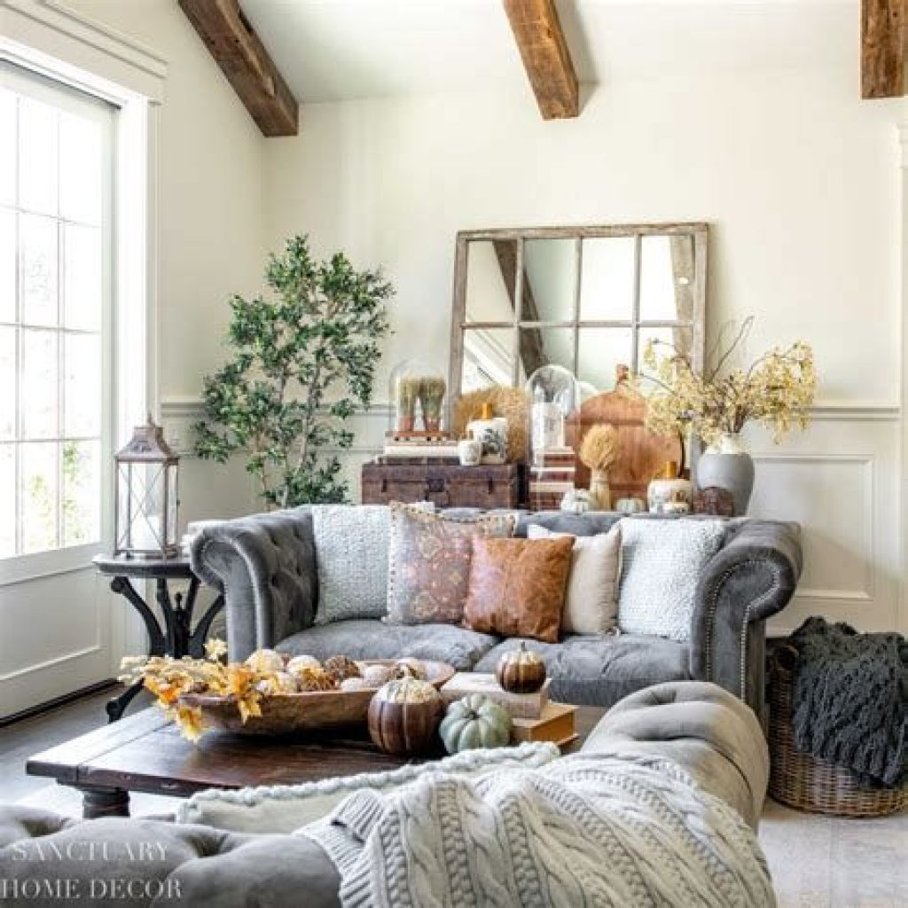 Amazing Fall Home Decorations For Minimalist House 30