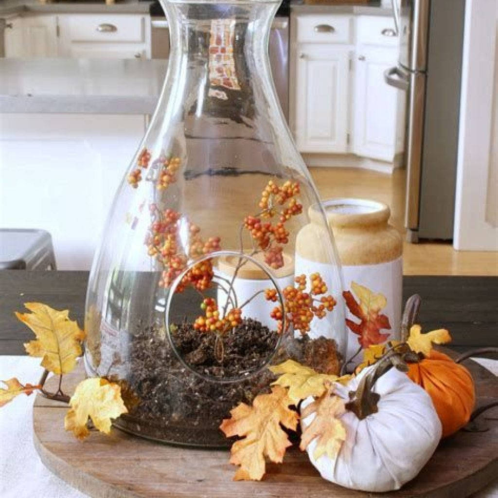 Amazing Fall Home Decorations For Minimalist House 34