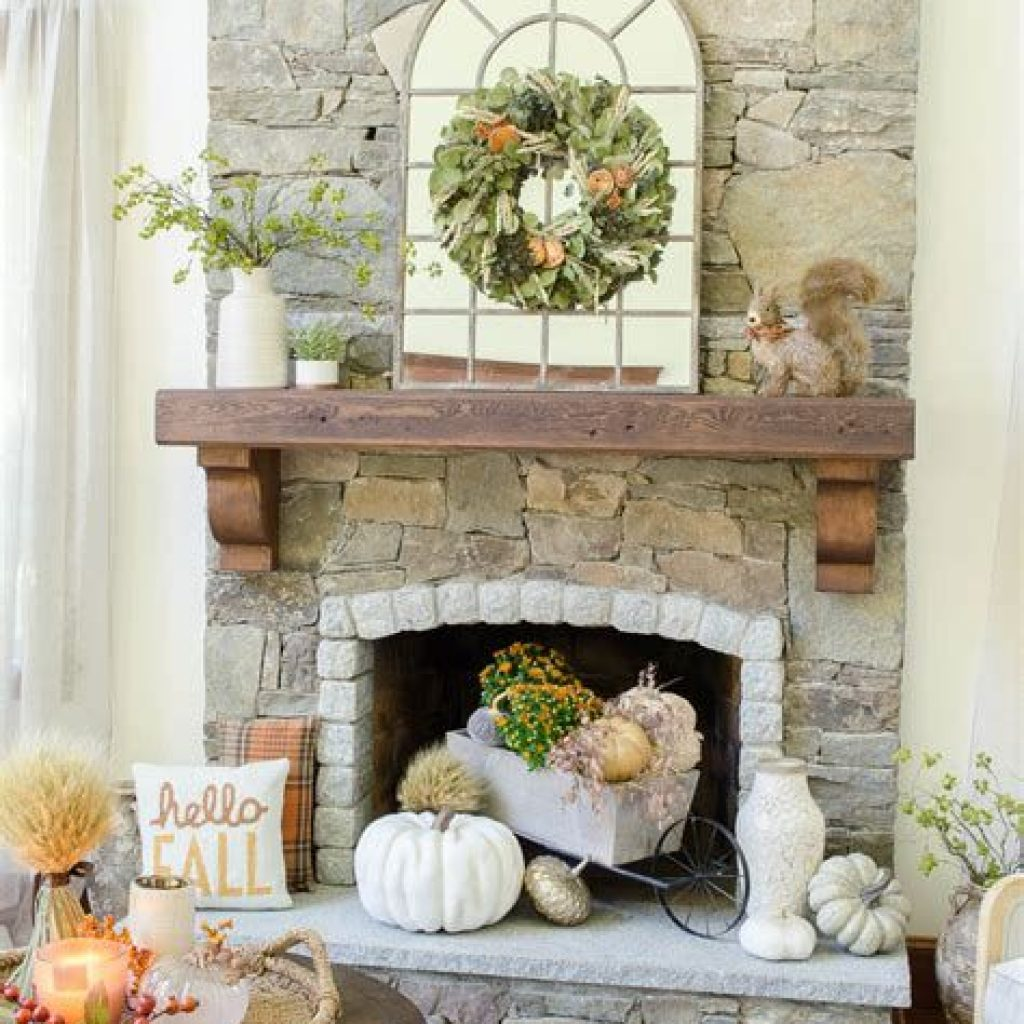 Amazing Fall Home Decorations For Minimalist House 38