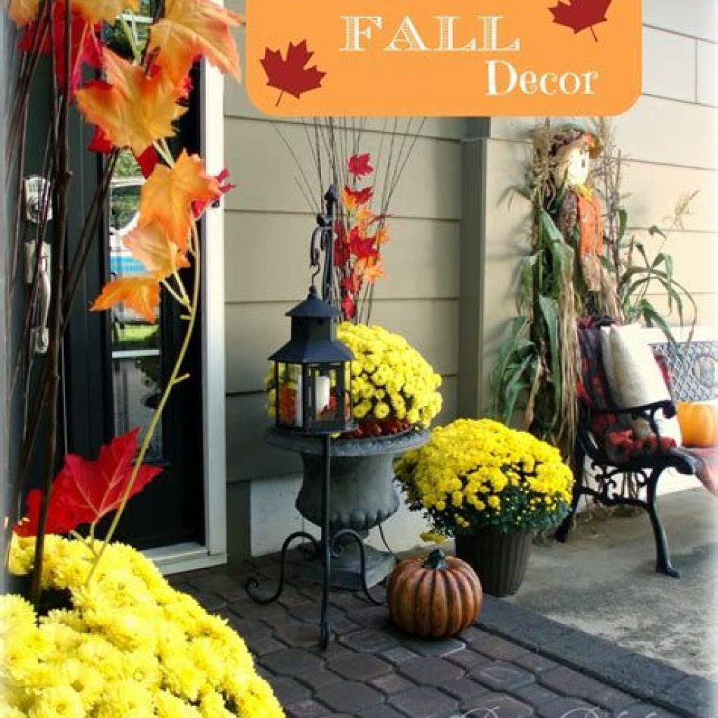 Amazing Outdoor Fall Decoration Youll Love 01