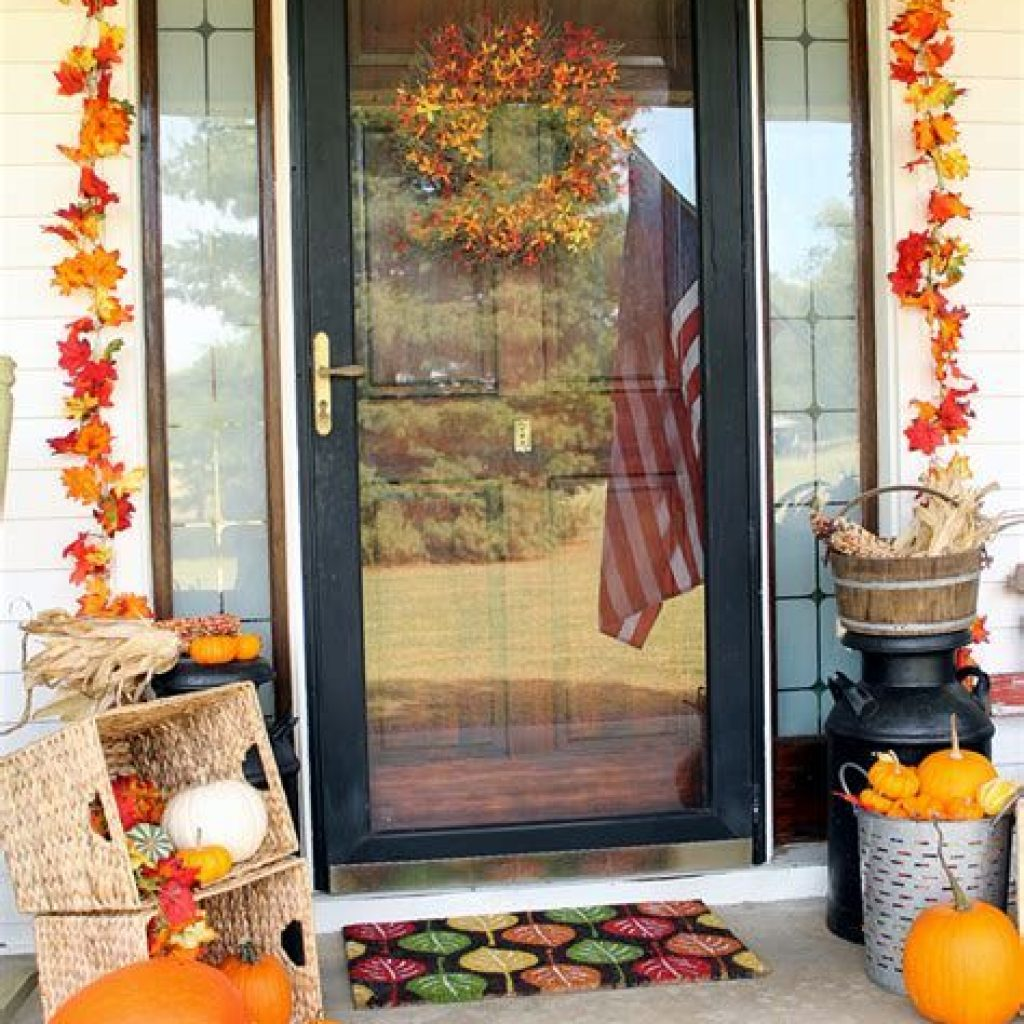Amazing Outdoor Fall Decoration Youll Love 03