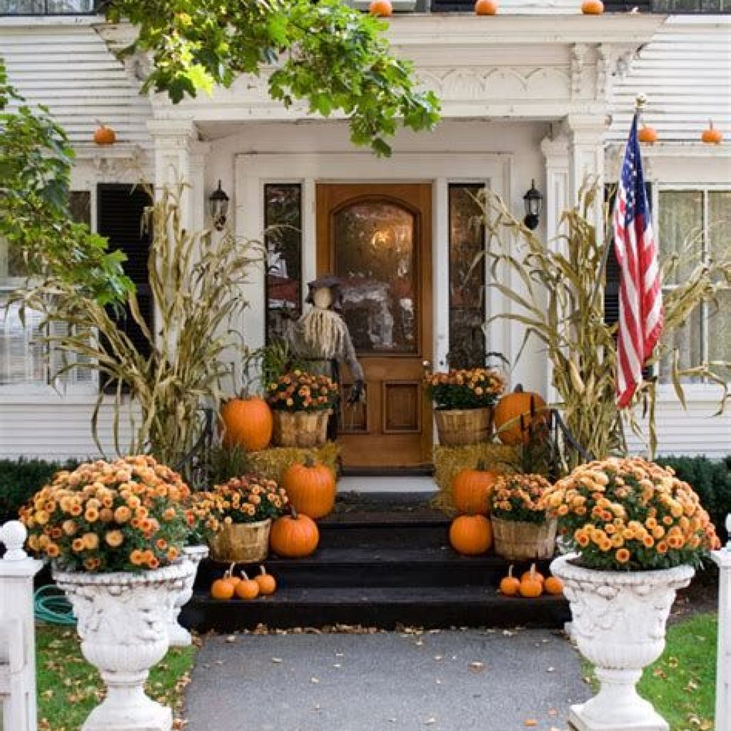 Amazing Outdoor Fall Decoration Youll Love 07