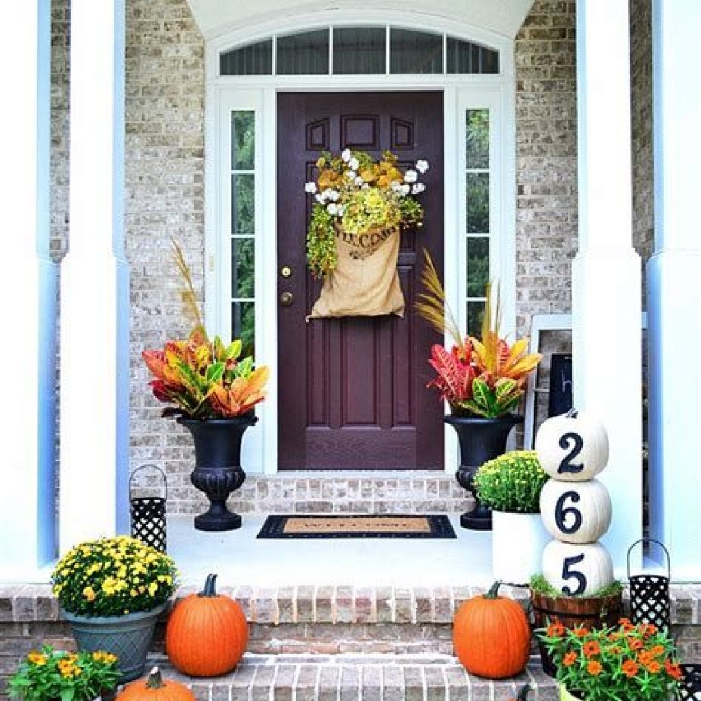 Amazing Outdoor Fall Decoration Youll Love 08