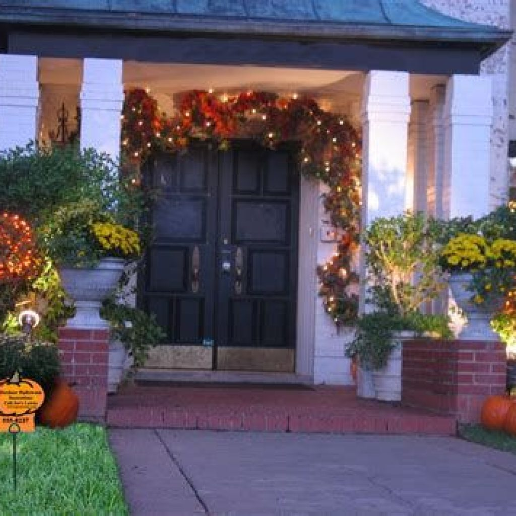 Amazing Outdoor Fall Decoration Youll Love 13