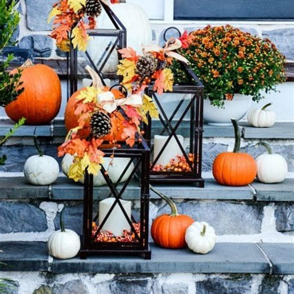 Amazing Outdoor Fall Decoration Youll Love 18