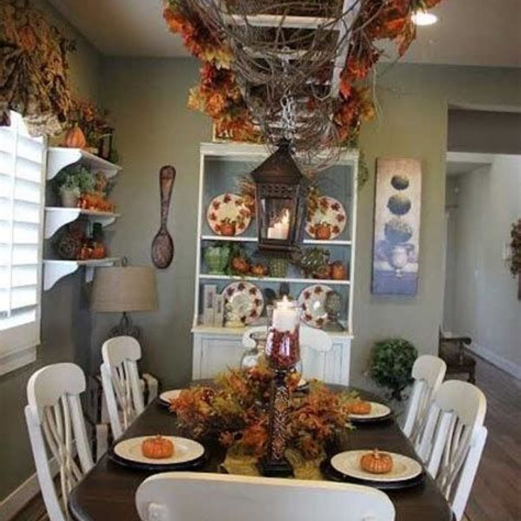 Awesome Fall Home Decoration For Your Interior 01