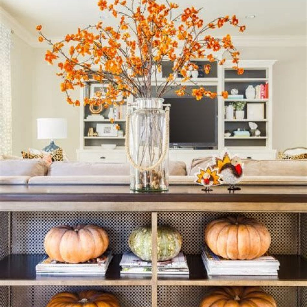 Awesome Fall Home Decoration For Your Interior 04