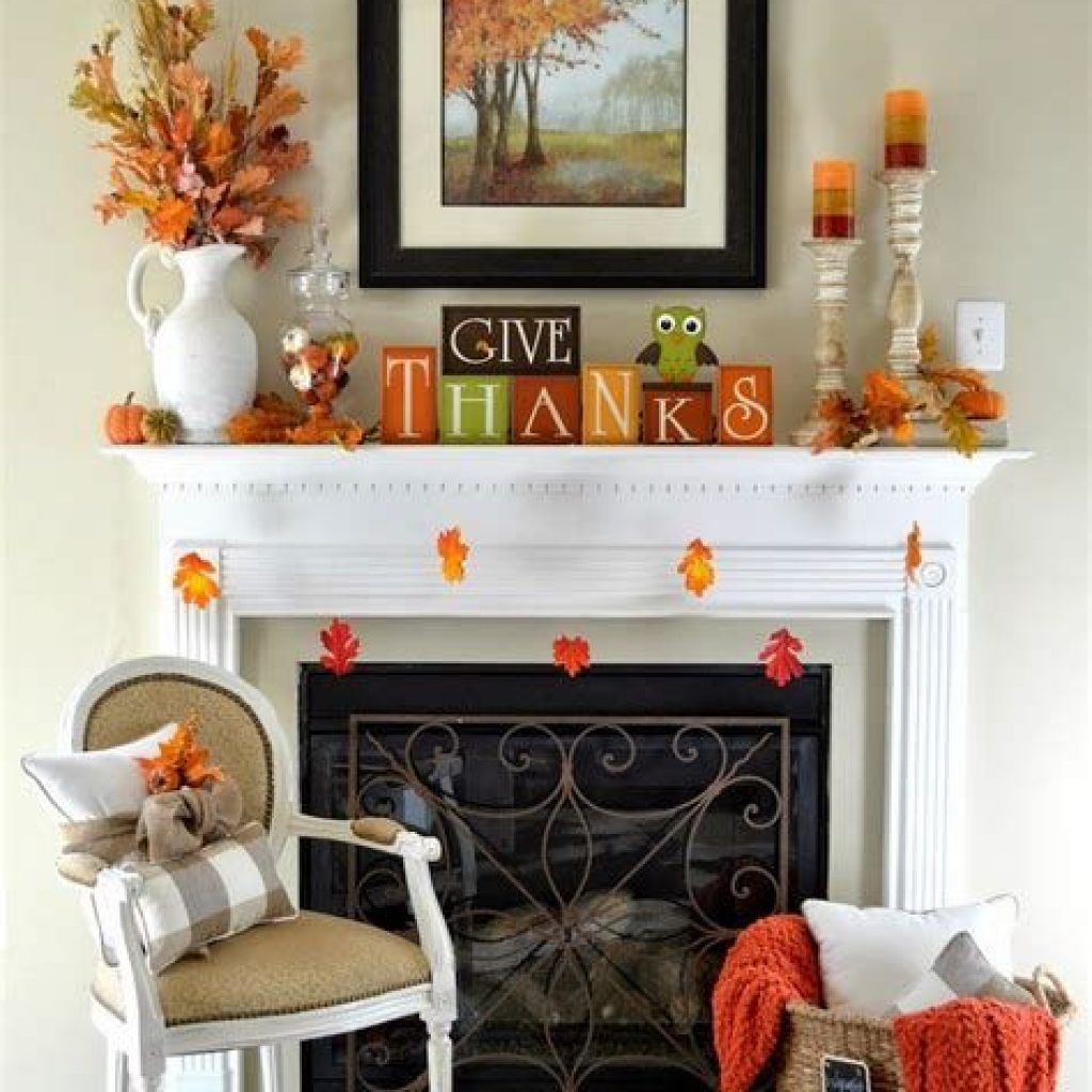 Awesome Fall Home Decoration For Your Interior 12