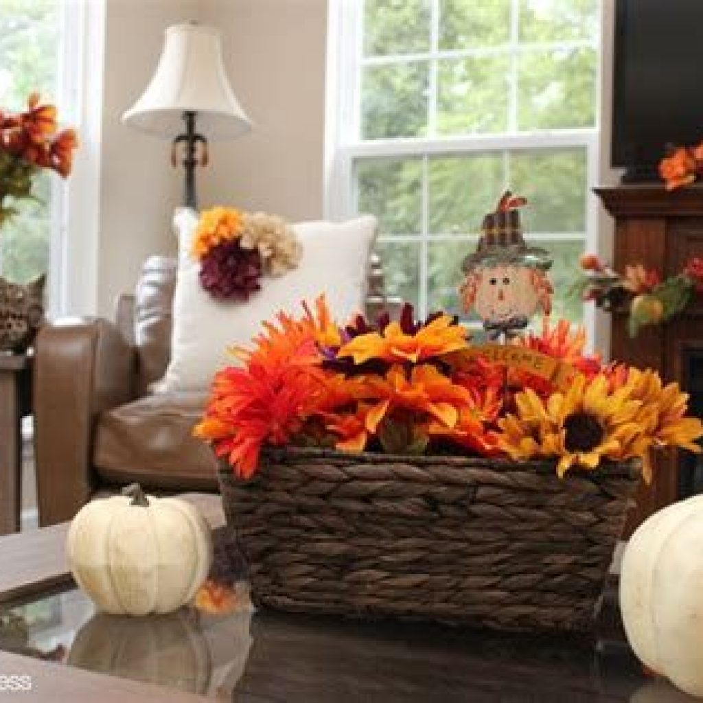 Awesome Fall Home Decoration For Your Interior 17