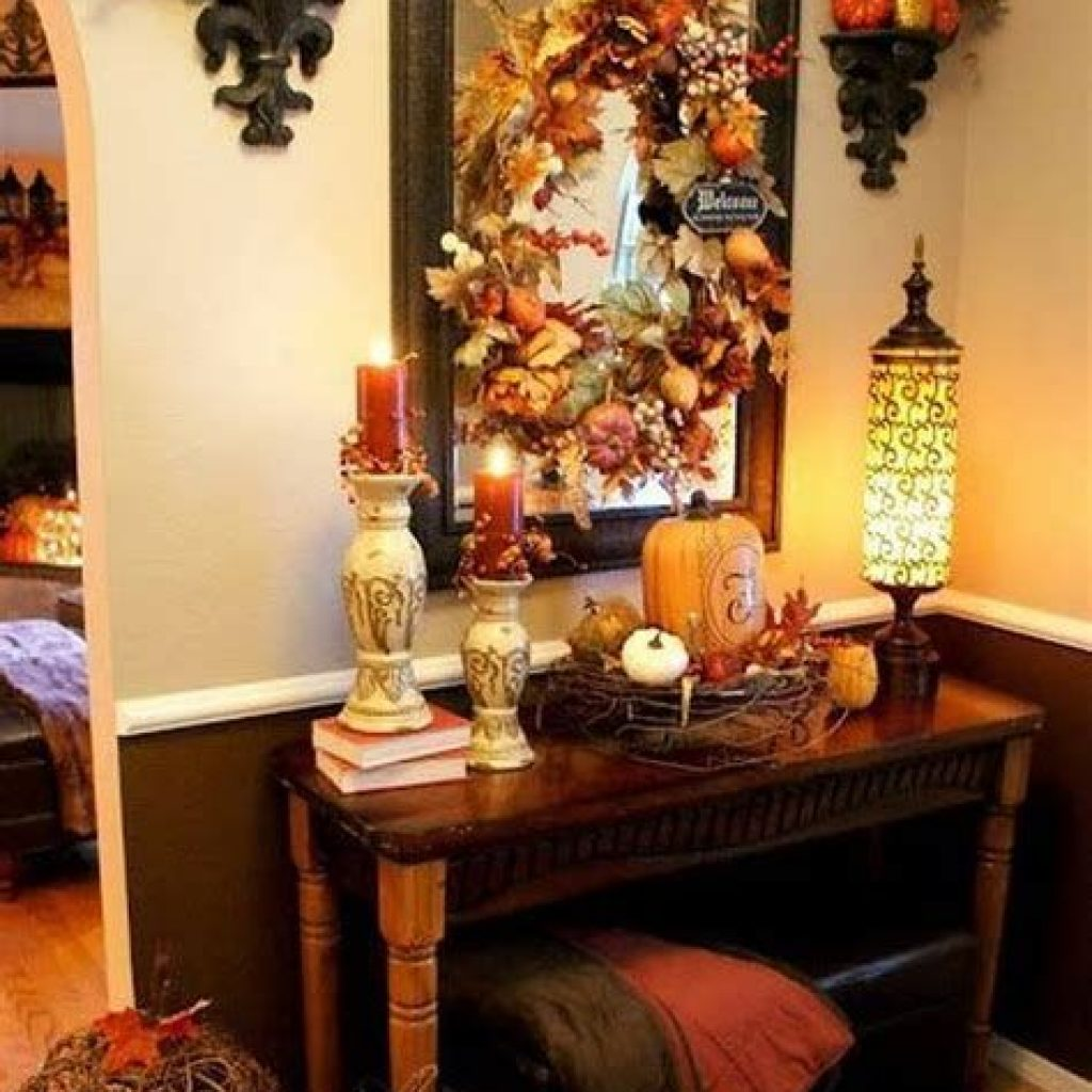 Awesome Fall Home Decoration For Your Interior 18