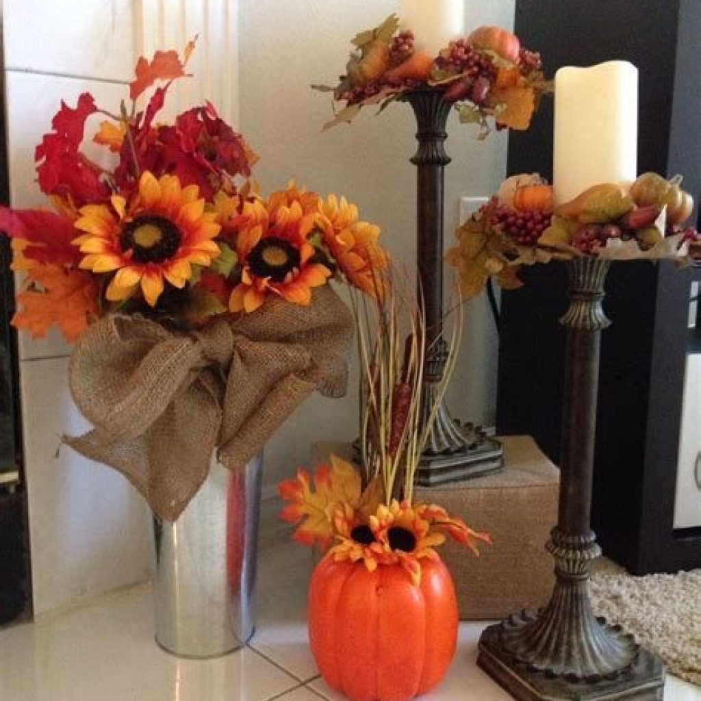 Awesome Fall Home Decoration For Your Interior 19