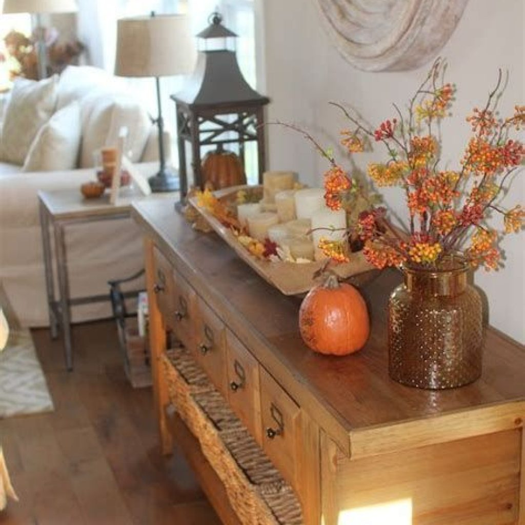 Awesome Fall Home Decoration For Your Interior 40