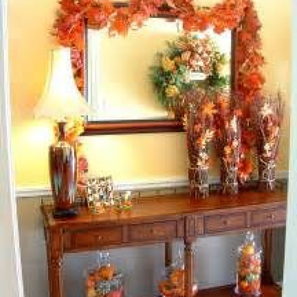 Cheap And Easy Fall Entryways Decoration For Your House 10