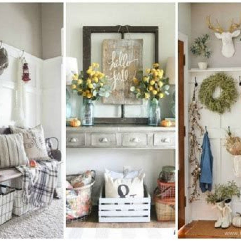 Cheap And Easy Fall Entryways Decoration For Your House 11