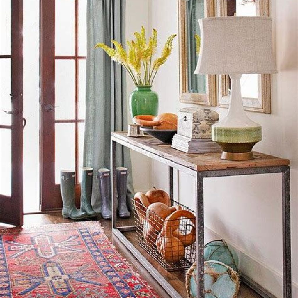 Cheap And Easy Fall Entryways Decoration For Your House 15