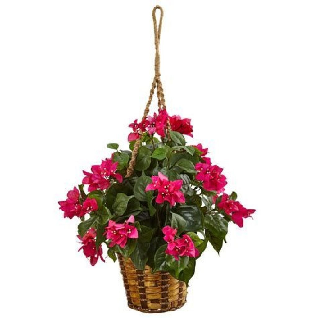 Creative Blooming Hanging Baskets For Garden Year Round 02