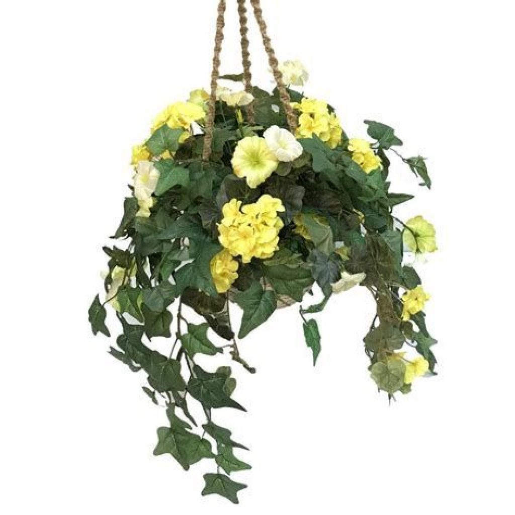 Creative Blooming Hanging Baskets For Garden Year Round 11
