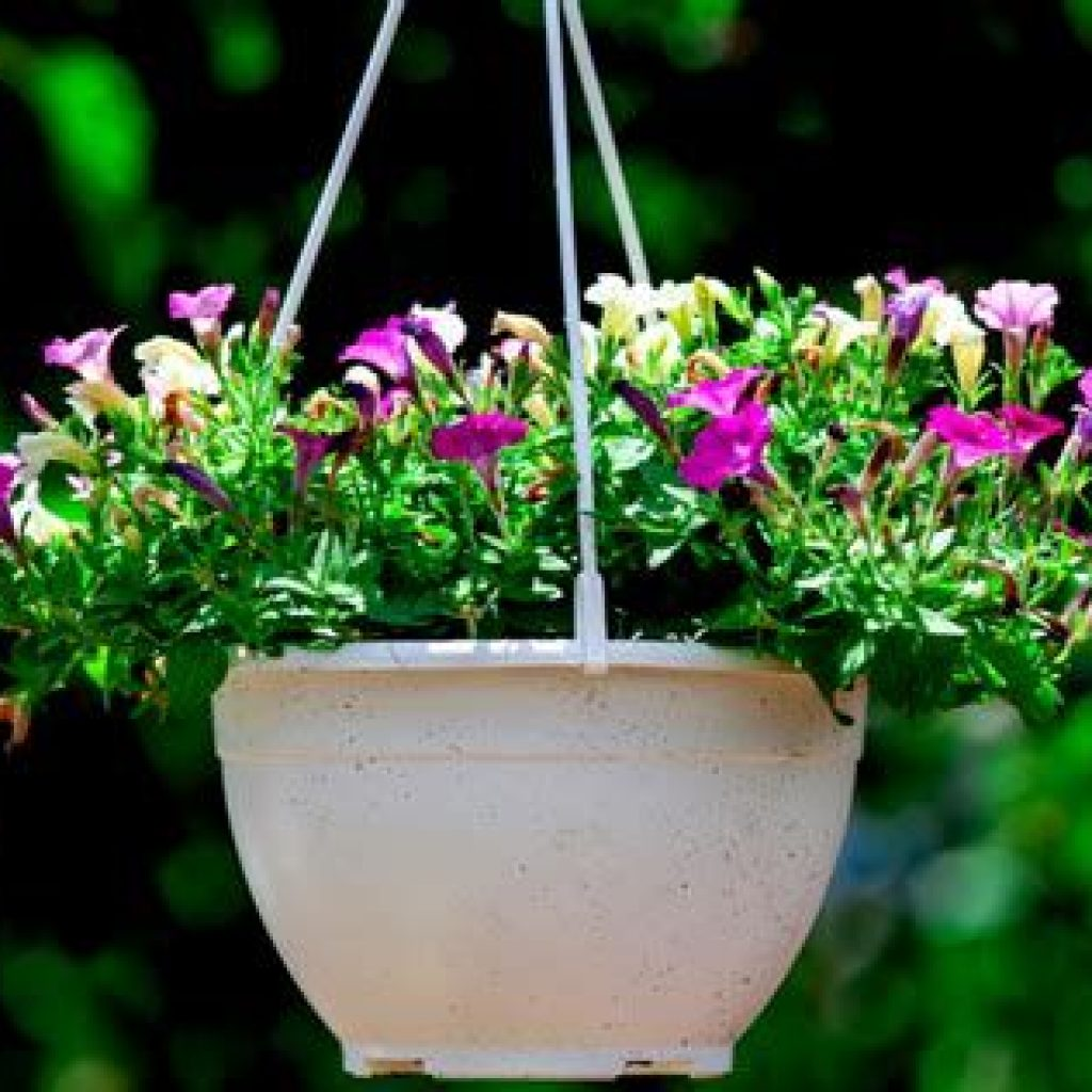 Creative Blooming Hanging Baskets For Garden Year Round 16