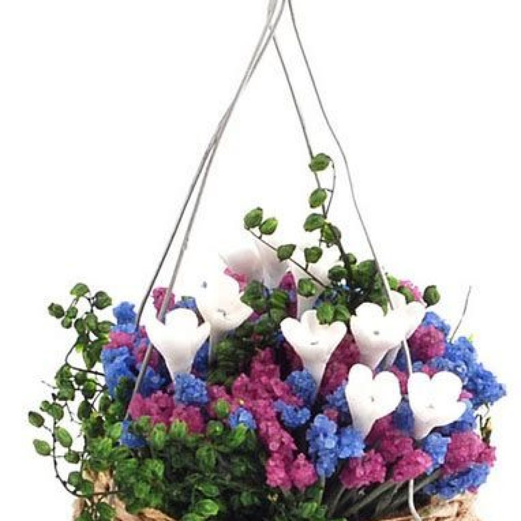 Creative Blooming Hanging Baskets For Garden Year Round 22