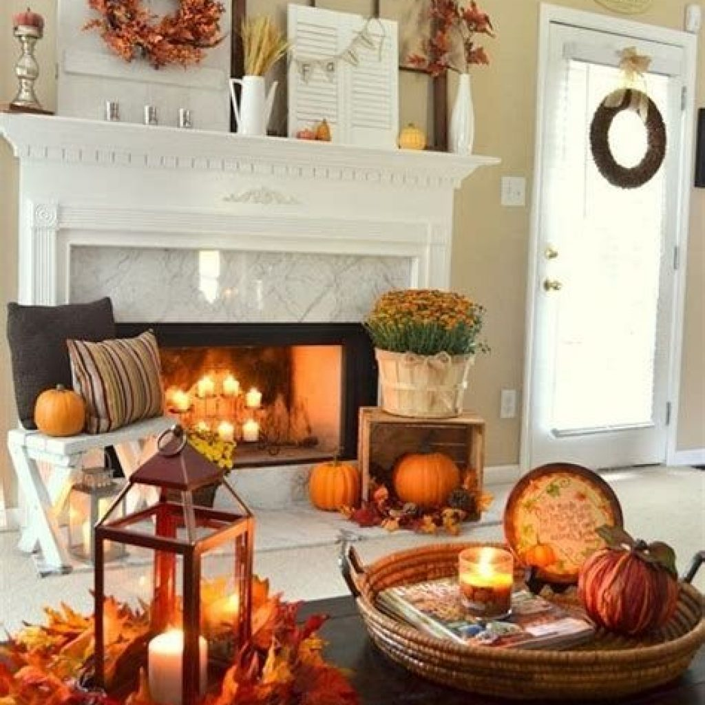 Creative Fall Decorating For Your Home Interior 16