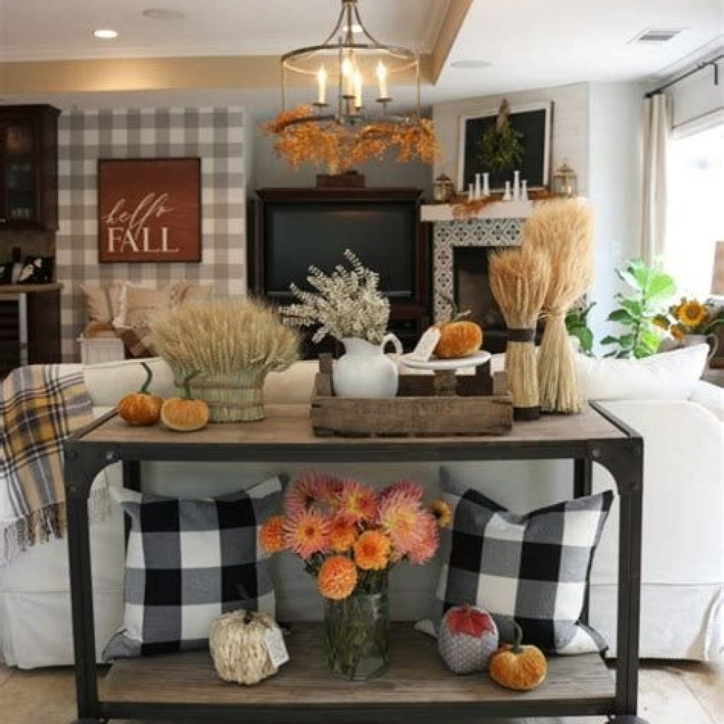 Creative Fall Decorating For Your Home Interior 20