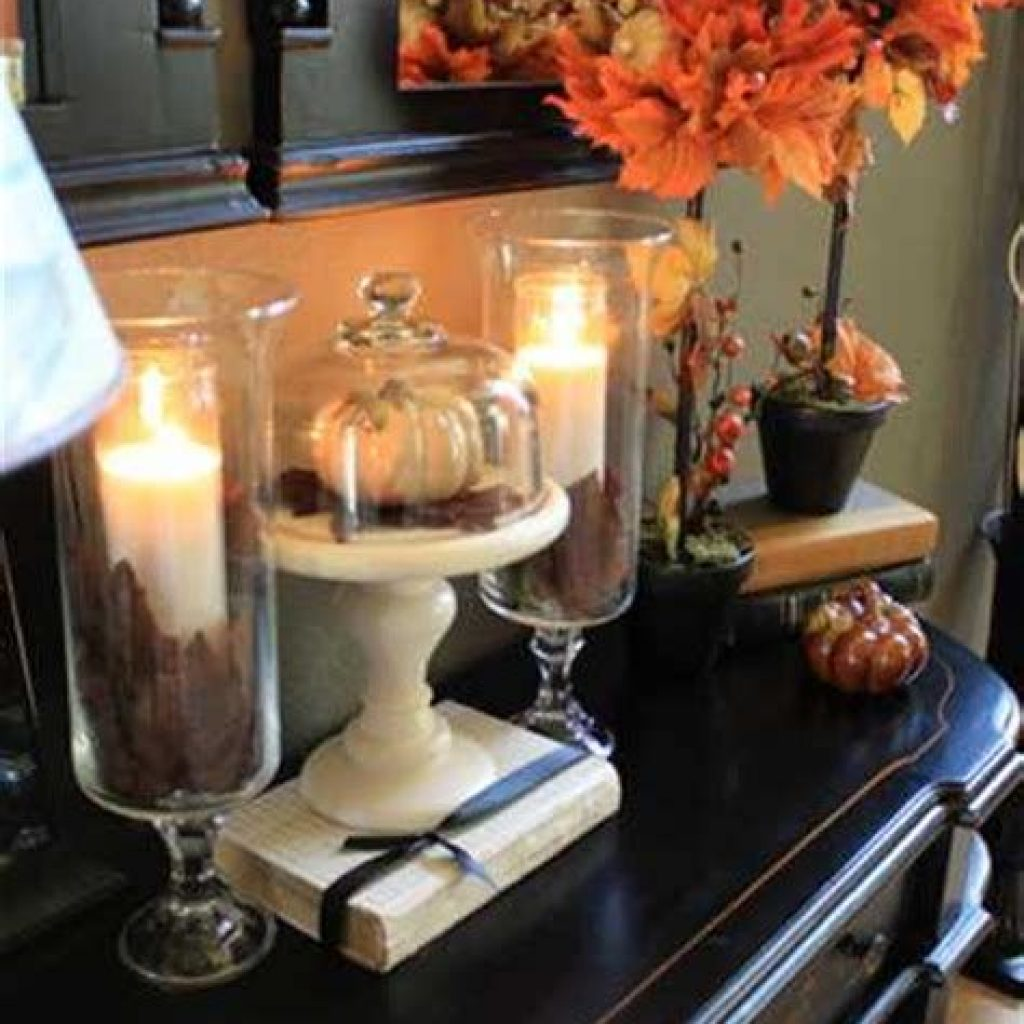 Creative Fall Decorating For Your Home Interior 27
