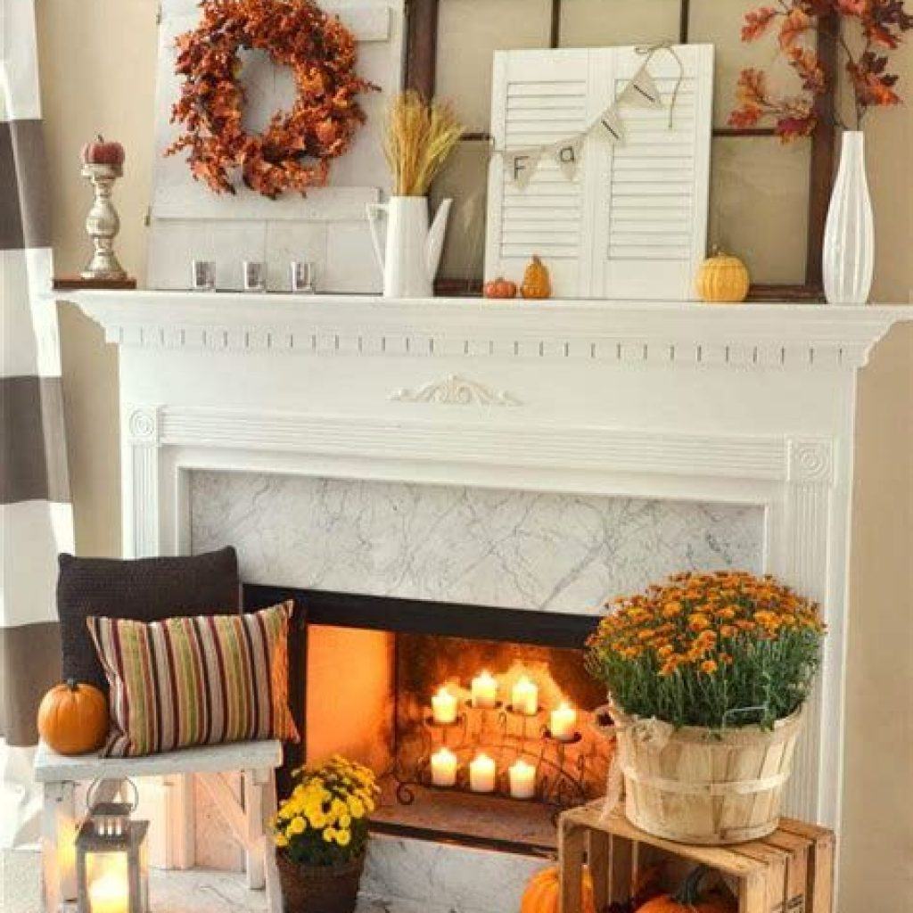 Creative Fall Decorating For Your Home Interior 39